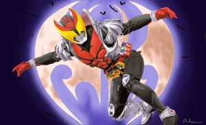 Kamen Rider Kiva by ShadowRangerBlue