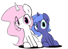 Alicorn sisters (GIF) by Forever-Pegasister