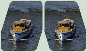 At the Spreebogen 3D :: Cross-View HDR Stereoscopy by zour