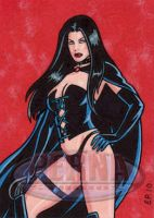Selene Sketch Card by ElainePerna