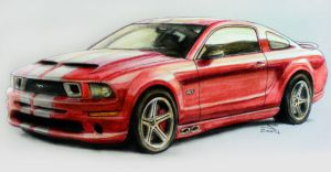 Mustang for my GF by gt1750