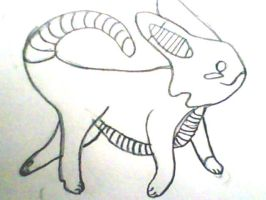 Art trade with TehViperKitty (not done) by thebloodedrose