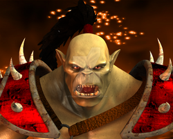 Warcraft: Orc Grunt by Allocer2009