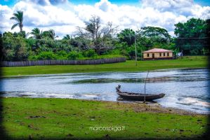 landscape Canoa by marcospiga