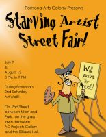 Starving Artist Flyer by tursiart