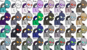 Random Protoss Color Test by admiral-squee