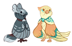Birbs by fancypigeon