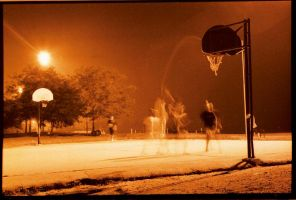 Basketball Shadows by dogeatdog5