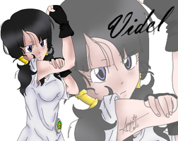 Videl Strong. by 1010Amy-Kia