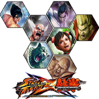 Street Fighter x Tekken Icon Hexagon Edition by Ni8crawler