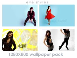 Eve Myles Simple Wallpapers by Irridescent