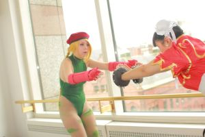 Anime Boston 2014 - Worlds' Strongest Women(PS) 27 by VideoGameStupid