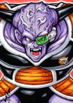 Sketch Card - Captain Ginyu by gb2k