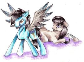 Request - Arcus and Octavia by x-CrystalRose-x