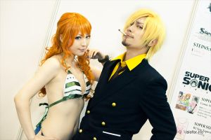 AFA - Nami And Sanji by ValeforHo