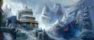 The Winter Abode of Shan Kelemvorvak III by M0nkeyBread