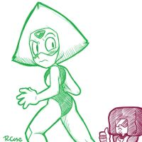 Thumbs up Peridot by rongs1234