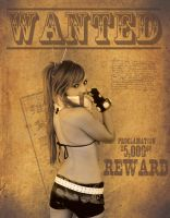 Wanted Jessica Nigri by efrainshadowsonic
