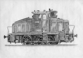 Train finished by CecilieAusland