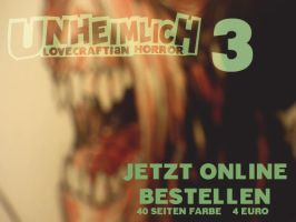 UNHEIMLICH 3 out now COMIC by Millus