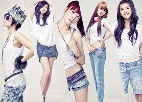 4Minute by MilkYo
