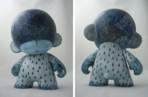 Rainstorm Munny by River-Roane