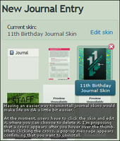 VS11: Easy Journal Skin Uninstall by bradleysays