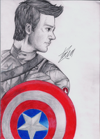 Gleevengers - Captain America by ivy11