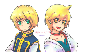 [Hunter x MAGI] kurapika and Alibaba ~ by Foxmi