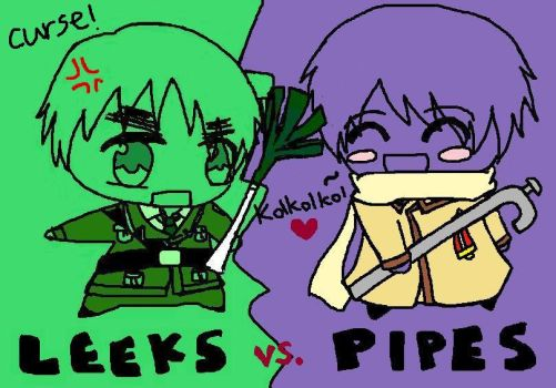 APH: Leeks vs Pipes by WatermelonLand
