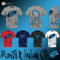 FREE the monster in YOU! (design with ideas) by blackkandido