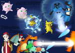 SSBB - Team Pokemon by BrightScholar