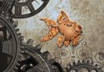 Steampunk Goldfish by FauxHead