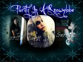 Purity In A Snowglobe Cover Version 2 by UnderAbigailsRose