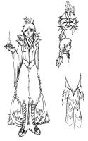 Lumi's Costume Rough by Pencil-Artisan