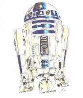 R2-D2 by MikimusPrime