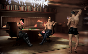 Strip Poker by Forever-in-a-Day