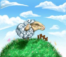 sheep by ferps