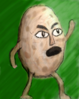 Angry Potatoman by MrLolkins