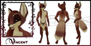 Vincent Fox Form Character Sheet by OtakuEC