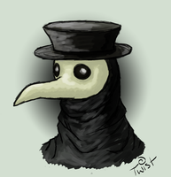 Plague Doctor by Twisticide