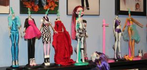WIP custom ooak Monster High dolls by rainbow1977