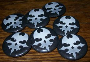 TWEWY Pins - Player Pins by Paradise-Props
