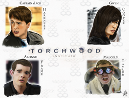 Team Torchwood -2nd Place- by karlarei2003
