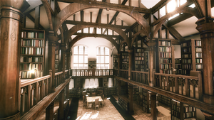 Old Library Render by MisterJL