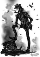 Jigen in black by Dasha-KO
