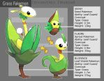 Fakemon: Grass by Twarda8
