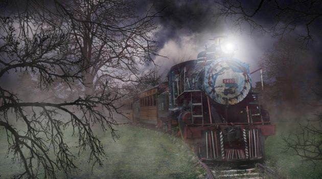 Ghost Train by Dreamworkproductions