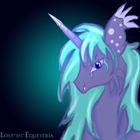 Portrait of Glaciar by Lost-in-Equestria
