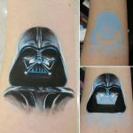 Darth Vader Arm Painting by a-chelsea-grin